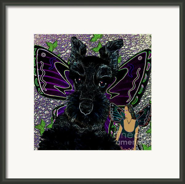 Butterfly Pets Framed Print By Tisha Mcgee