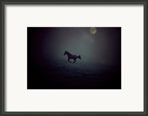 By The Moon Framed Print By Emily Stauring