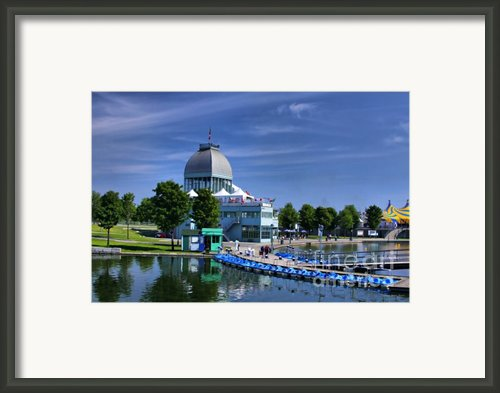 By The Port Montreal Framed Print By Deborah Benoit