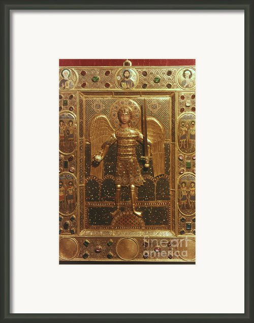 Byzantine Art: St. Michael Framed Print By Granger