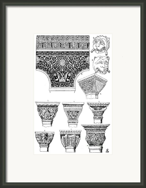 Byzantine Ornament Framed Print By Granger