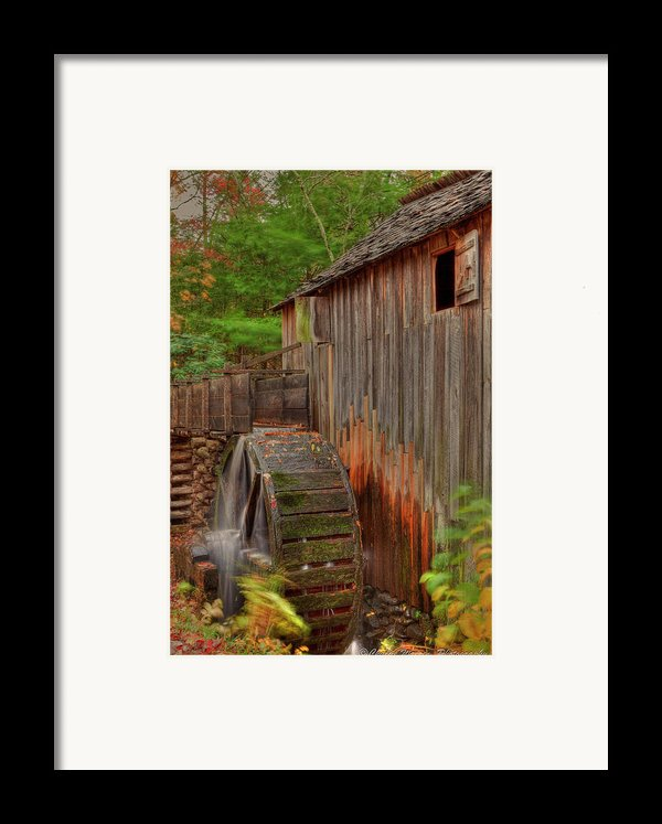 Cable Mill Ii Framed Print By Charles Warren
