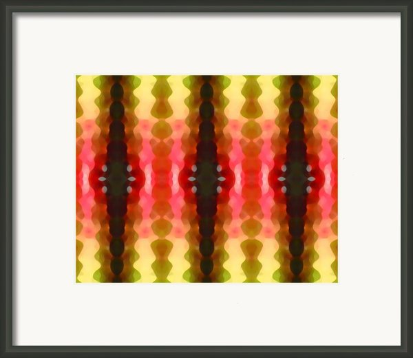 Cactus Vibrations 2 Framed Print By Amy Vangsgard