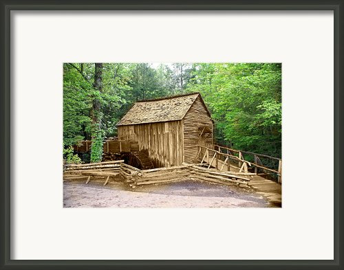 Cades Cove Mill Framed Print By Marty Koch