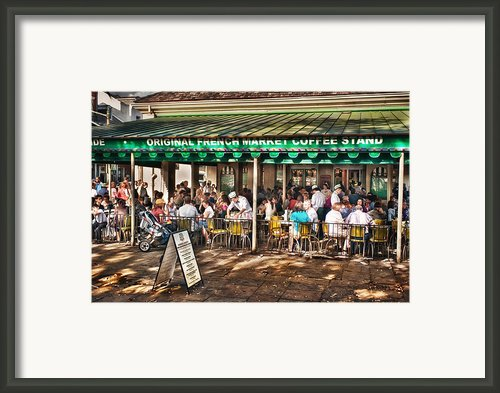 Cafe Du Monde Framed Print By Brenda Bryant