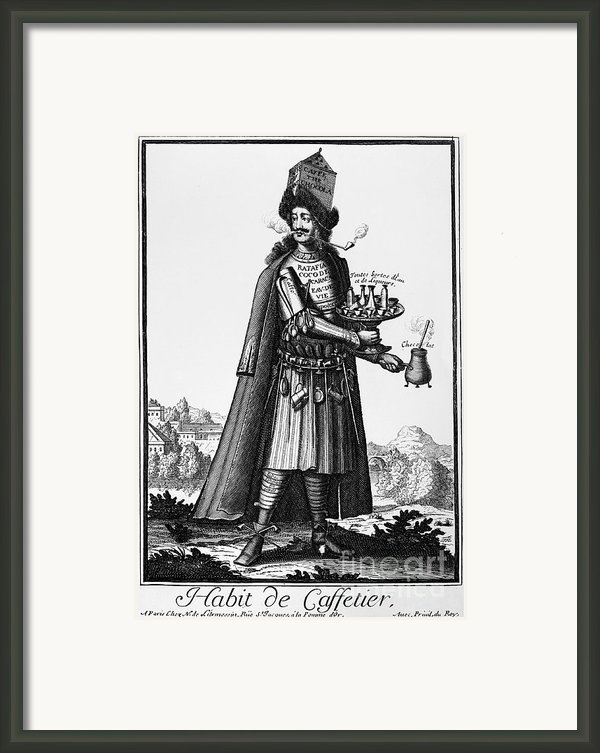 Cafe Owner, C1690 Framed Print By Granger