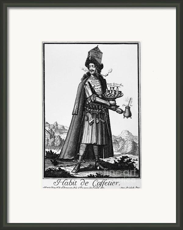 Cafe Owner, C1690 Framed Print By Granger