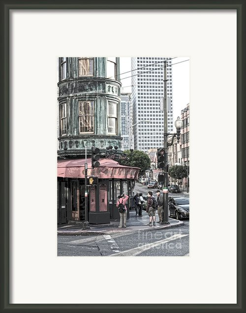 Cafe Zoetrope  Framed Print By Author And Photographer Laura Wrede