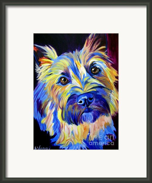 Cairn - Neiman Framed Print By Alicia Vannoy Call