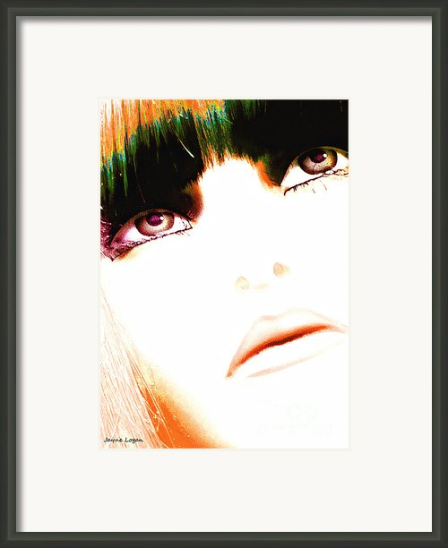 Calico Girl Pop Art Framed Print By Jayne Logan Intveld