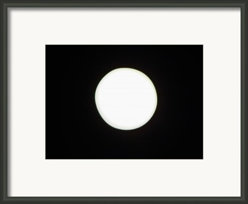 California Moon Framed Print By Elizabeth Hoskinson