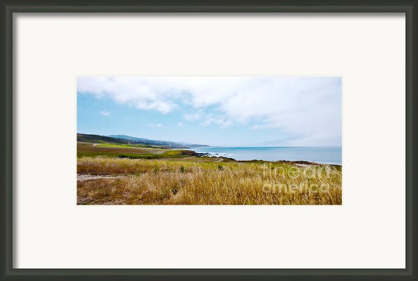 California Pacific Coast Highway - Forever Summer  Framed Print By Artist And Photographer Laura Wrede