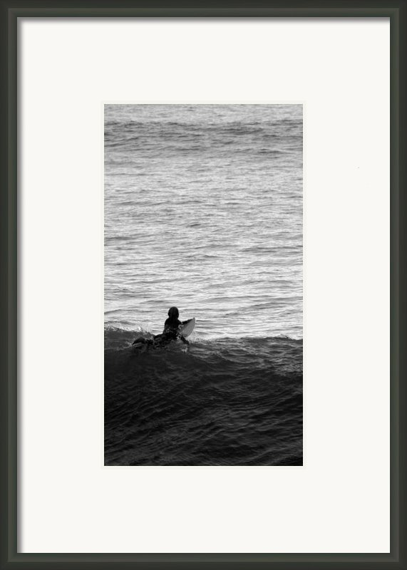 California Surfing Framed Print By Brad Scott