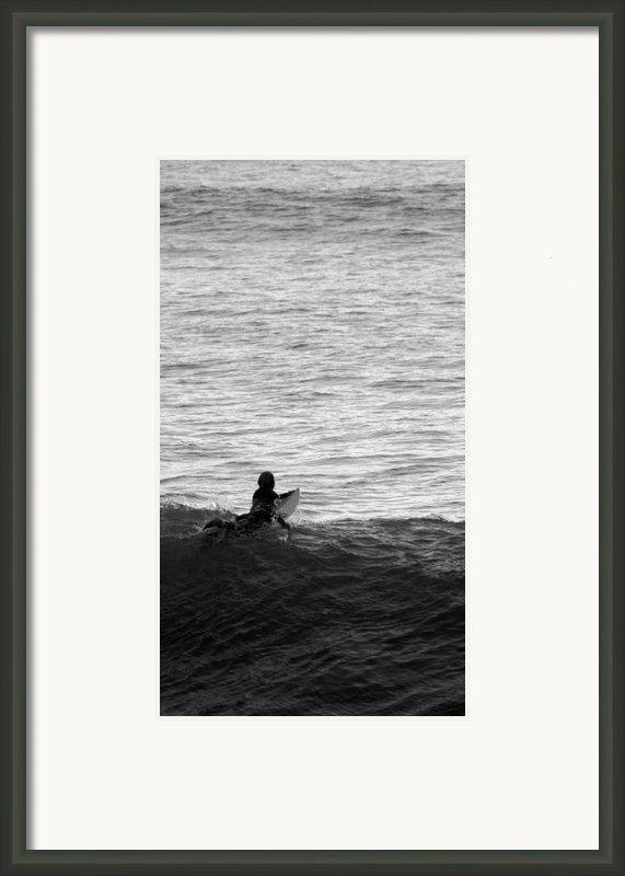 California Surfing Framed Print By Brad Scott