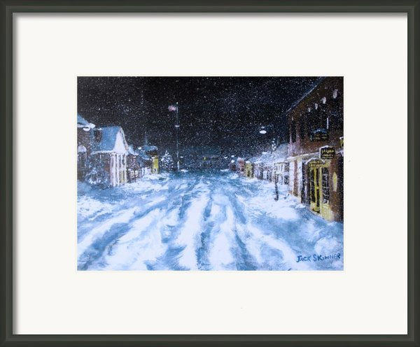 Call Out The Plows Framed Print By Jack Skinner