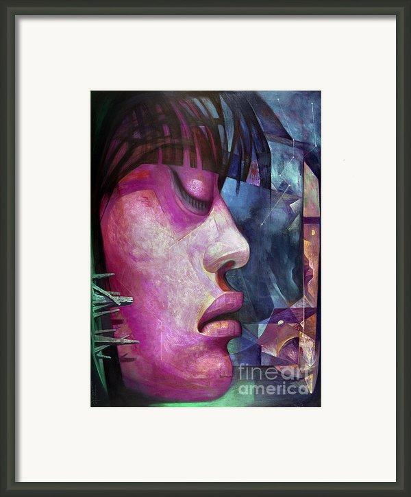 Camarena: Woman Framed Print By Granger