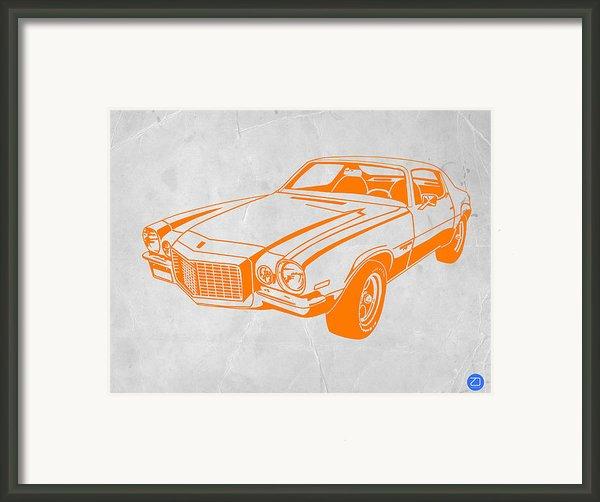 Camaro Framed Print By Naxart Studio