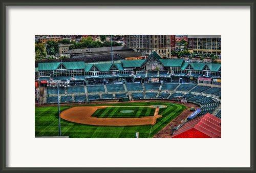 Camden Yards Camden Nj Framed Print By Melvin Coleman