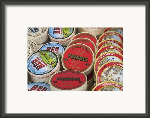 Camembert Cheeses Framed Print By Mark Azavedo