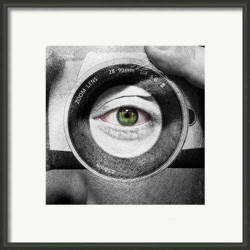 Camera Face Framed Print By Semmick Photo