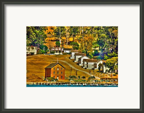 Camp Reynolds Angel Island Framed Print By Cheryl Young