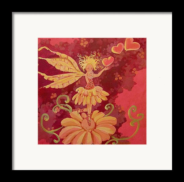 Candy 1 Framed Print By Jackie Rock
