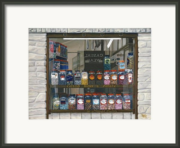 Candy Shoppe Framed Print By Jiji Lee