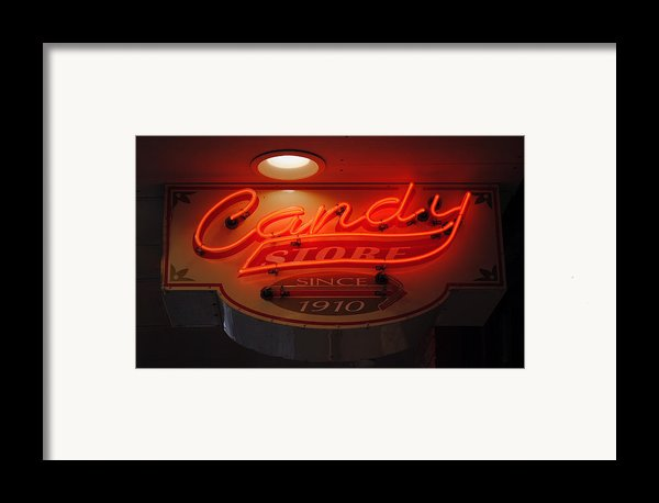 Candy Framed Print By Skip Willits