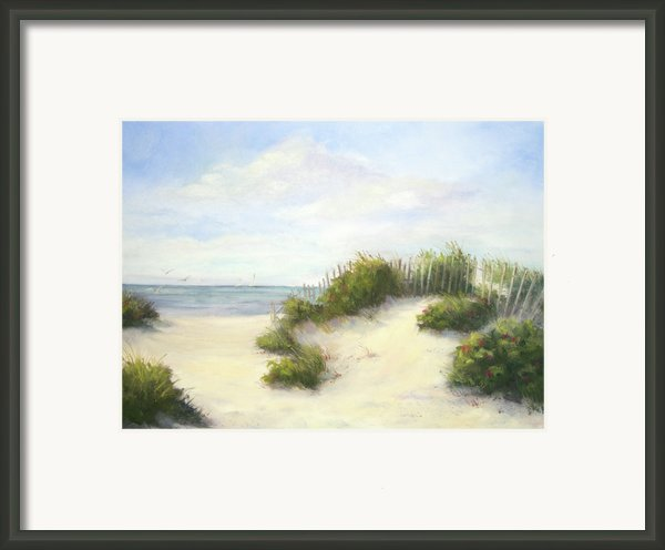 Cape Afternoon Framed Print By Vikki Bouffard