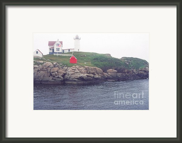 Cape Neddick Lighthouse Framed Print By Thomas R Fletcher