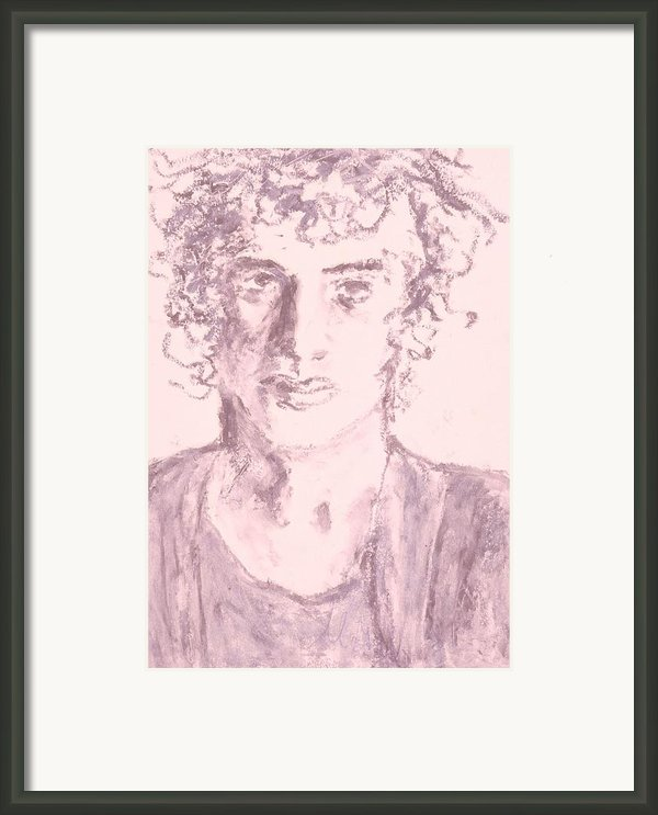 Captive Framed Print By Iris Gill