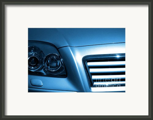 Car Face Framed Print By Carlos Caetano