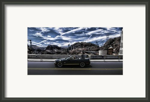 Car Framed Print By Marco Moscadelli