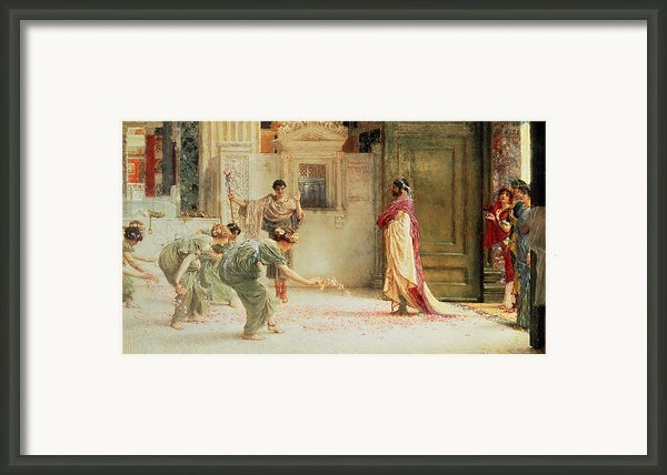 Caracalla Framed Print By Sir Lawrence Alma-tadema