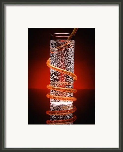 Carbonated Drink Framed Print By Victor De Schwanberg