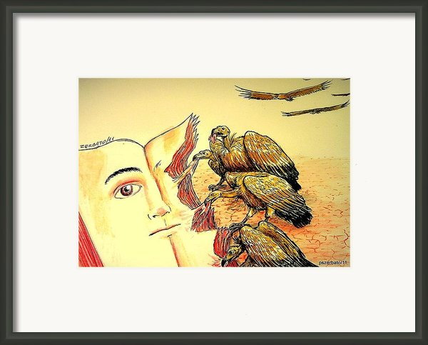 Carcasses Of Education Framed Print By Paulo Zerbato