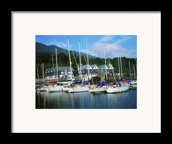 Carlingford Marina, Carlingford, County Framed Print By The Irish Image Collection