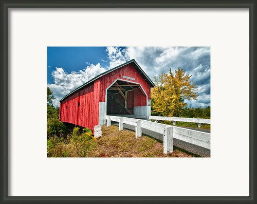 Carlton Bridge Framed Print By Fred Leblanc