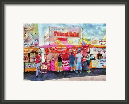 Carnival - The Variety Is Endless Framed Print By Mike Savad