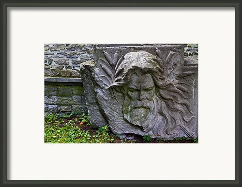 Carved Stone Framed Print By David Freuthal