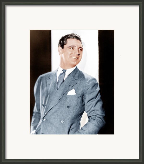 Cary Grant, Ca. Early 1930s Framed Print By Everett