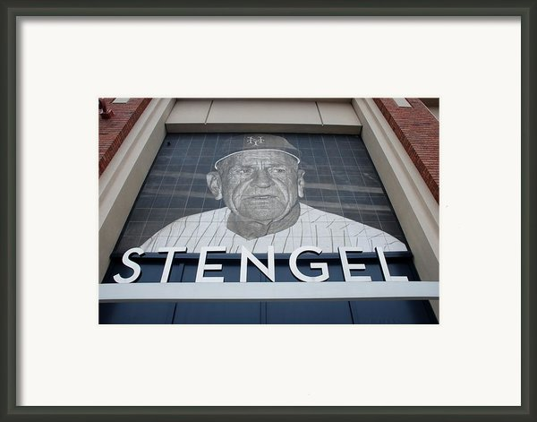 Casey Stengel Framed Print By Rob Hans