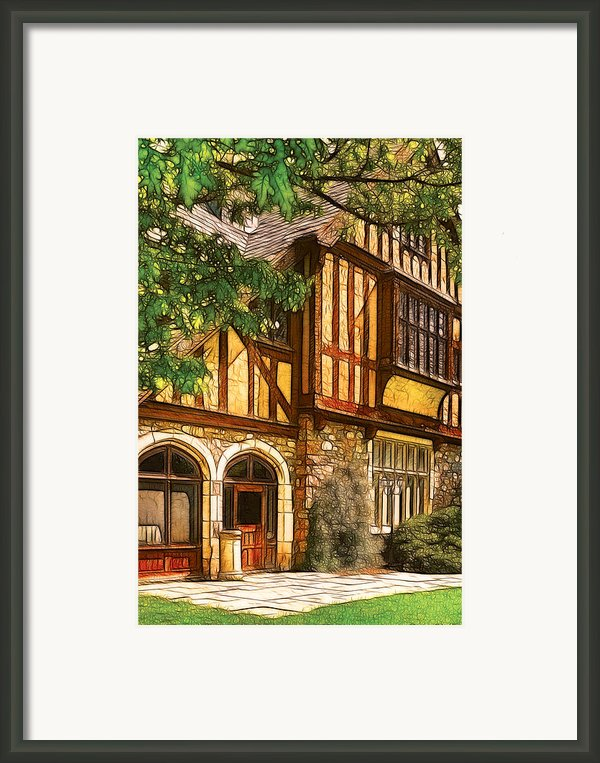 Castle - Castle Iii Framed Print By Mike Savad