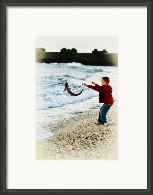 Catch And Release Framed Print By Bill Cannon