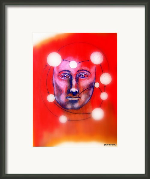 Cathartic Reaction Framed Print By Paulo Zerbato
