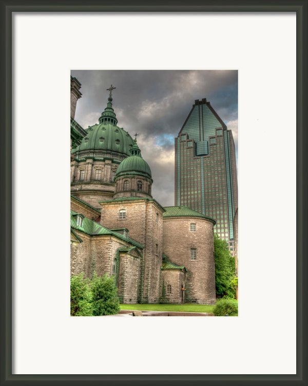 Cathedral Framed Print By Elisabeth Van Eyken