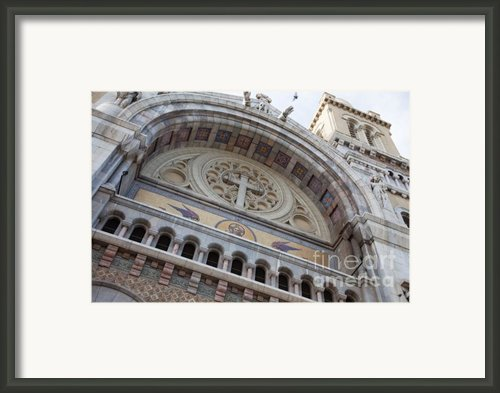 Cathedral Of St Vincent De Paul I Framed Print By Irene Abdou