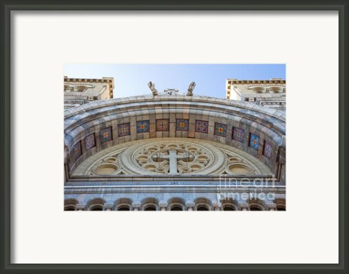 Cathedral Of St Vincent De Paul Iv Framed Print By Irene Abdou