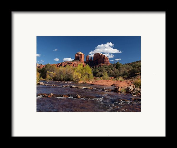 Cathedral Rock Sedona Framed Print By Joshua House