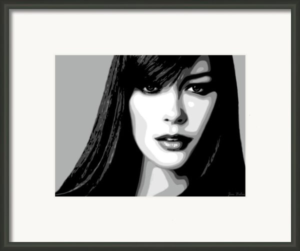 Catherine Zeta Jones 1 Framed Print By Jim Belin